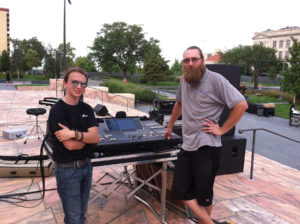 MSL-engineers-Dan-and-Donny-at-the-Yamaha-M7CL-digital-console