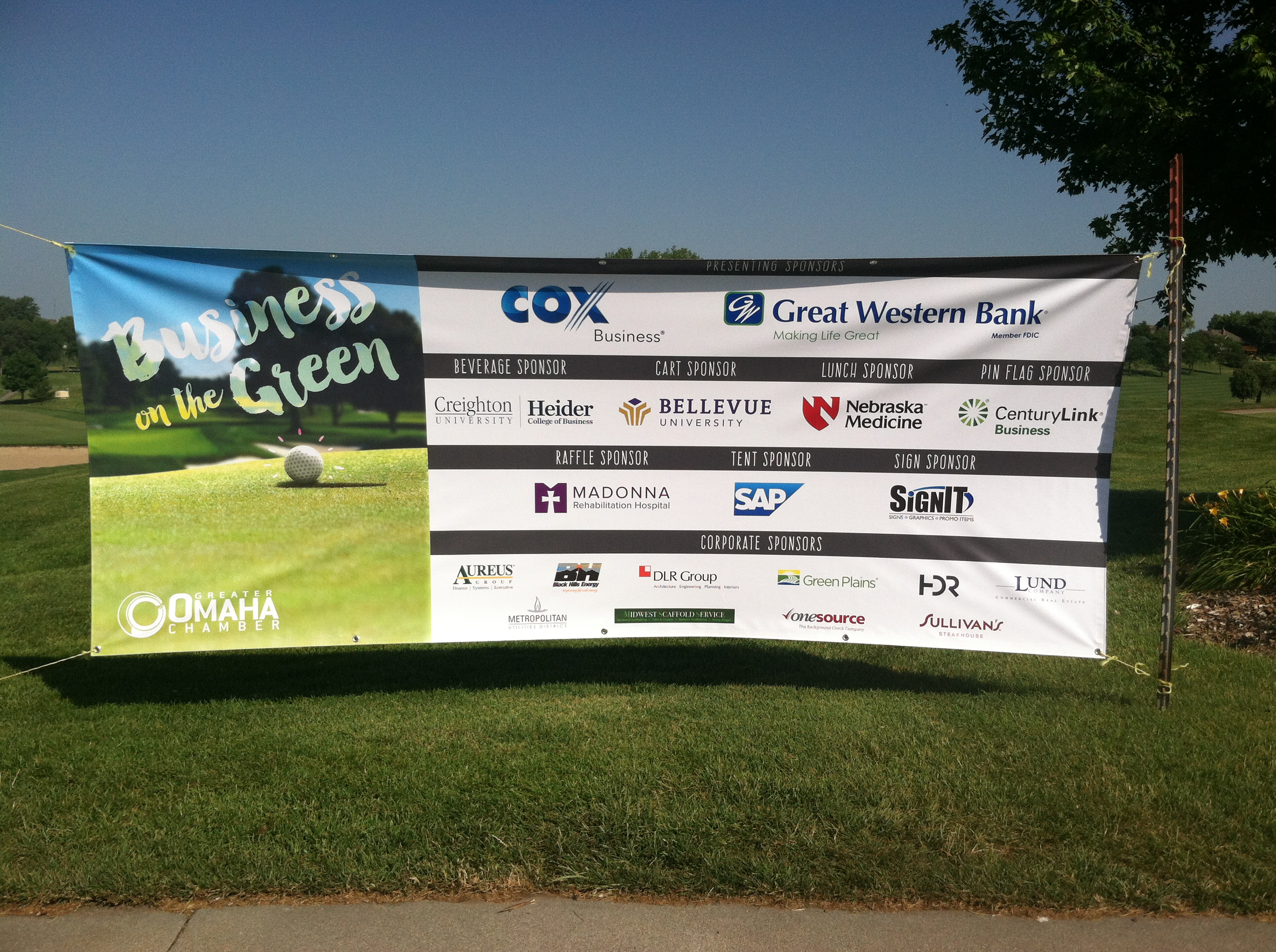 Many thanks to the generous BOTG sponsors.