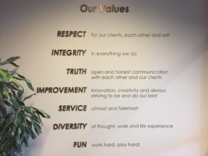 North End Teleservices has values that guide the company