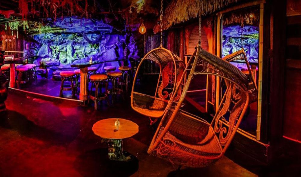 laka lono rum club midwest sound lighting. Black Bedroom Furniture Sets. Home Design Ideas