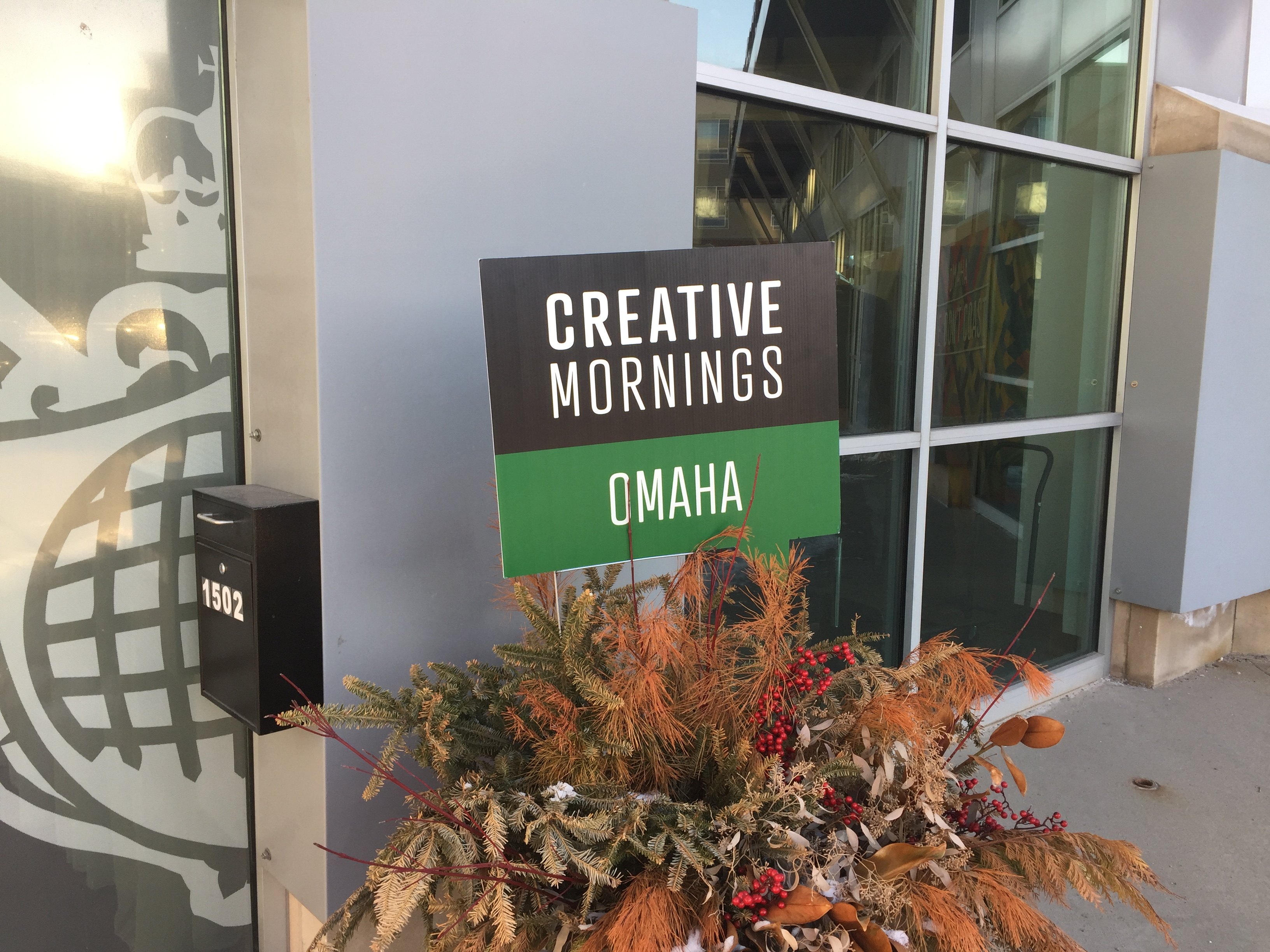 Welcome to CreativeMornings